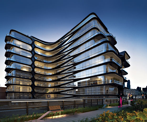 Wonderful Photo Courtesy Of Related Companies And Zaha Hadid Architects Exclusive  First Look At Zaha Hadid S High Line Building New. Ellendale Cool Apartment  ...