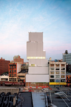The New Museum New York Magazine Architecture Review