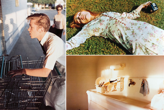 Dye-transfer effect in photoshop | William Eggleston | Flickr
