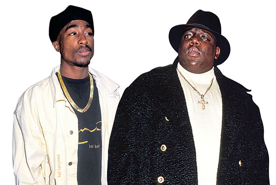 Image result for tupac biggie