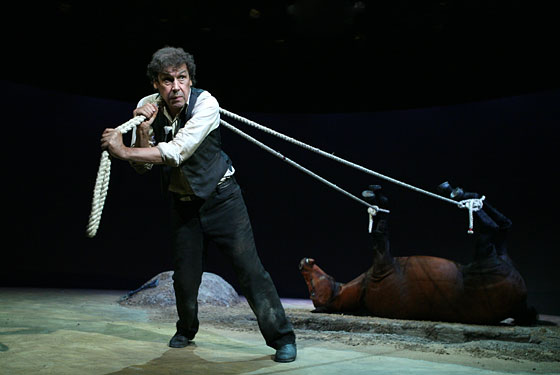 Kicking a Dead Horse -- New York Magazine Theater Review