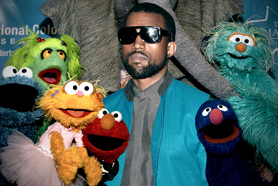 kanye west to produce puppet show vulture