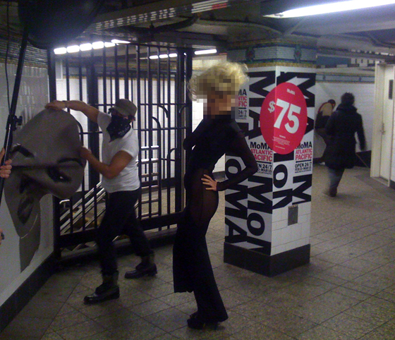 Poster Boy Remixes MoMA Subway Ads