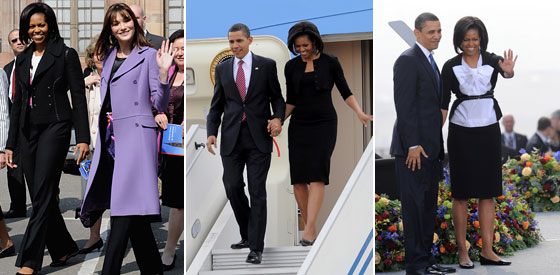 Alaia Dress And Jacket Mrs. Obama Wore of clothing Michelle Obama