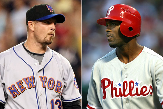 Billy Wagner, Jimmy Rollins: Who shall stumble ungallantly across the finish line?