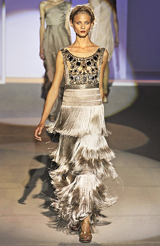 Milan Runways Full O' Fringe -- The Cut: New York Magazine's Fashion Blog :  milan wear blog shows
