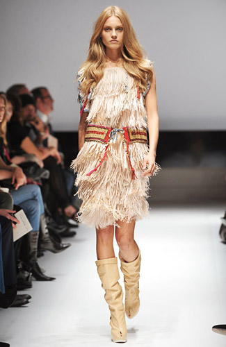 Milan Runways Full O' Fringe -- The Cut: New York Magazine's Fashion Blog :  milan shows vintage full