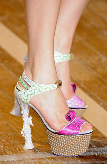 Spring 2009's Most Dangerous Shoes -- The Cut: New York Magazine's Fashion Blog :  spring 2009 magazine basso and brooke 2009