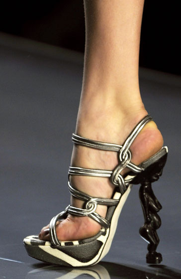 Spring 2009's Most Dangerous Shoes -- The Cut: New York Magazine's Fashion Blog :  spring 2009 magazine 2009 shoes