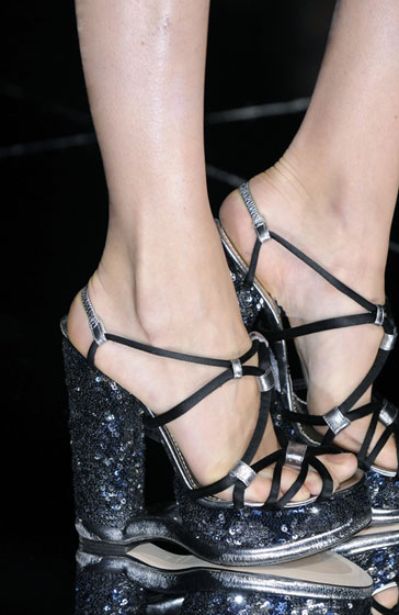 Spring 2009's Most Dangerous Shoes -- The Cut: New York Magazine's Fashion Blog :  spring 2009 magazine platforms 2009