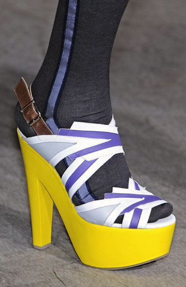 Spring 2009's Most Dangerous Shoes -- The Cut: New York Magazine's Fashion Blog :  spring 2009 designer magazine platforms