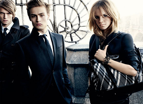 Behold: Emma Watson's Burberry Campaign. Photo: Courtesy of Burberry