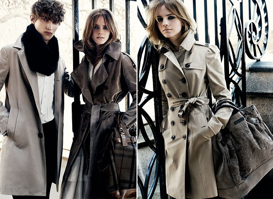 Behold: Emma Watson's Burberry Campaign