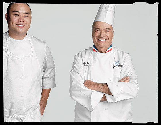 David Chang and André Soltner