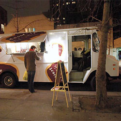 City Runs Dessert Truck Off the Road