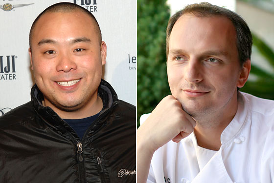 Chang, Carmellini, and Simmons Talk Chefs, Fame, and the Future of Dining ('Sous Vide' Steakhouses?)