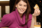 Gail Simmons Accepts Her Mandate to Eat Out