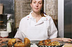 Pastry chef Christina Tosi at Momofuku Milk Bar.