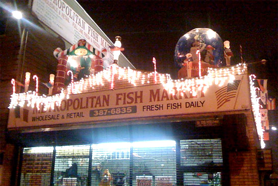 'Tis the Season: Xmas Excess at Metropolitan Fish Market
