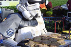 Sadly, this Storm Trooper is not scheduled to appear.