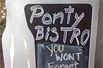 You'll Never Forget Ponty Bistro (Unless You Leave Really Drunk)