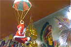 &#8217;Tis the Season: The Parachuting Santa at the Hidden Taqueria