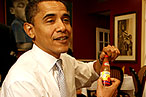 Obama Reaches Out to Locavores, Drunks
