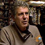 Bourdain Watches, Fears The Chopping Block