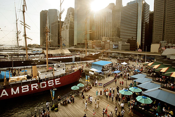 Water Taxi Beach Coming to Pier 17 and We Think We're Okay With It