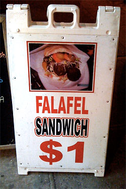 Falafel Frenzy: Cinderella Drops Price to $1