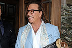 Mickey Rourke Only Goes to Four Restaurants