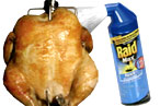 Nightmare at Dirty Bird To-Go: Roach-tisserie Chicken