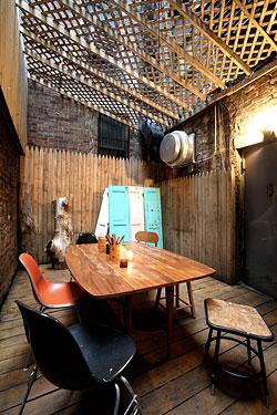 An Choi's back patio