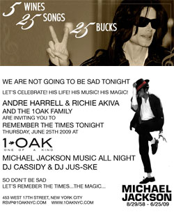 Highbrow Despicable? The Michael Jackson Wine Pairing