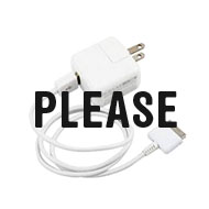 What Do We Have to Do to Get a Phone Charger Around Here?