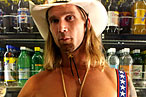 The Naked Cowboy Treats Himself to Bedtime Protein Bars
