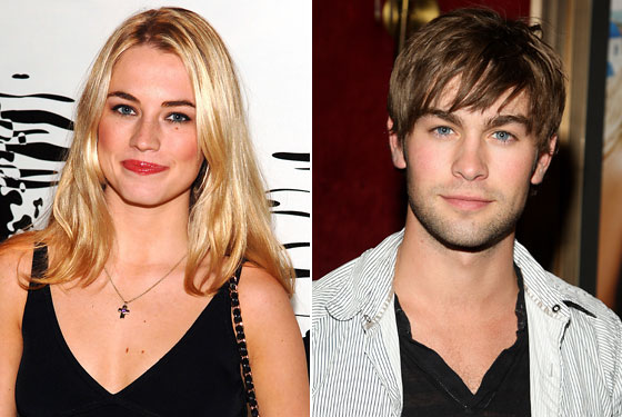 Amanda Hearst and Chace Crawford