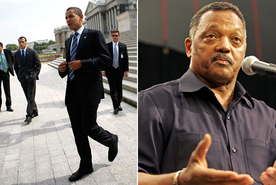 Barack Obama Jesse Jackson