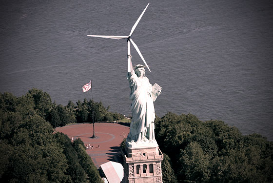 Statue of Liberty Windmill