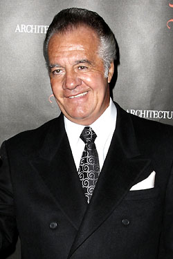 Tony Sirico. That suit looks like it's wool, but it <i>smells</i> like it's polyester.