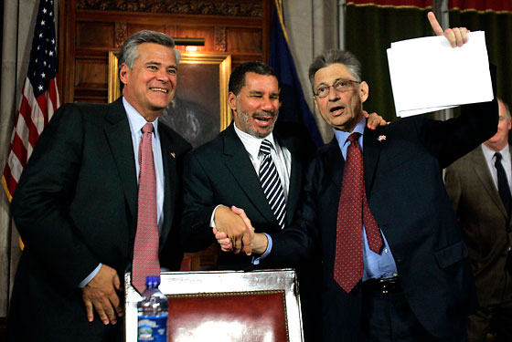 "Skelos, Paterson, and Silver: ""We're number one!"""