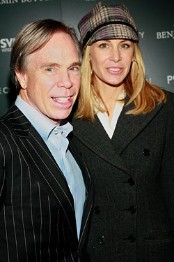 Tommy Hilfiger and Dee Ocleppo, to be married today.