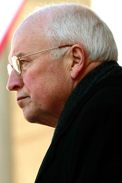 This may be weird to say, but sometimes it strikes us that Dick Cheney looks like a penny.
