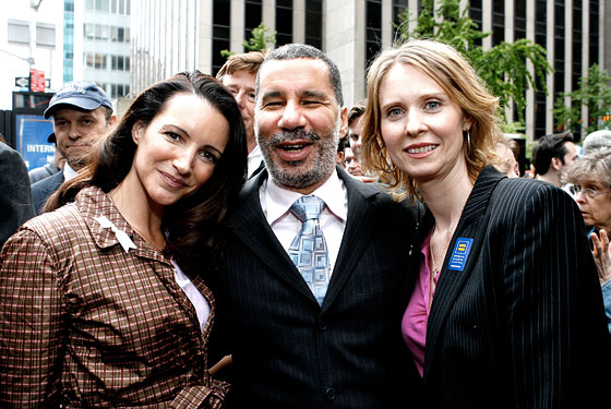 This is the last time Governor Paterson was happy.