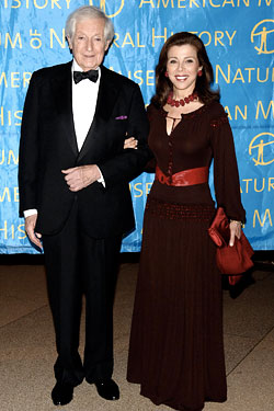 Lionel Pincus and Princess Firyal in 2005.