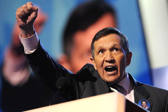 Kucinich went nuts!
