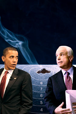 obama and mccain and guns