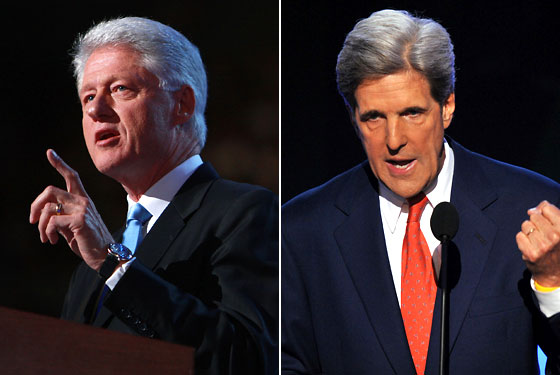 Bill Clinton John Kerry