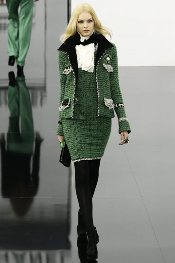 Chanel Fall 2009 RTW :  luxe designer evening womens