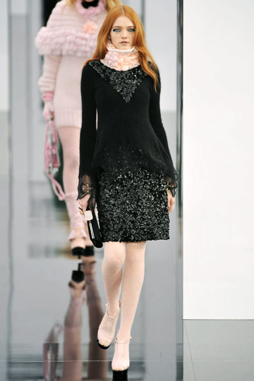 Chanel Fall 2009 RTW :  modern womens fashion chanel designer fashion